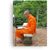 PC monk Canvas Print