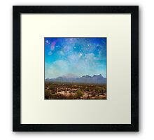 Arizona Mountains Framed Print