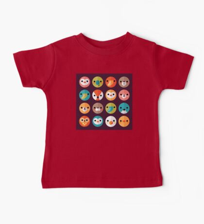 Smiley Faces Baby Tee