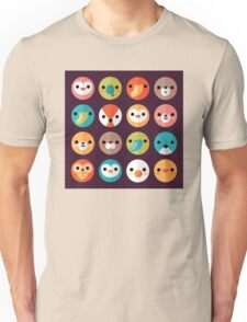 Smiley Faces Unisex T-Shirt