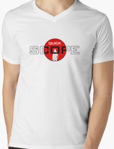 QuickScope Mens V-Neck T-Shirt