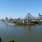 Brisbane panorama by PhotosByG