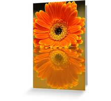 Double Orange Greeting Card