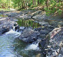 currumbin rock pools ... by gail woodbury