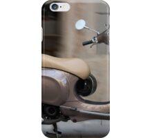 Classic Vespa scooter iPhone Case/Skin