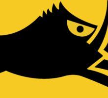Beware of Wild Boars, Traffic Sign, Japan Sticker