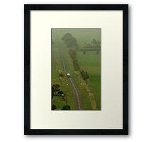 Country Run Framed Print
