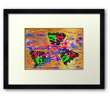 cry me a river Framed Print