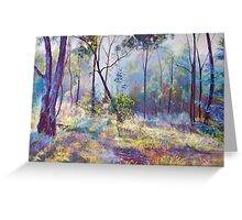 Symphony of Bush Colours Greeting Card