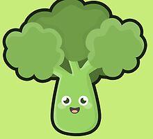 Kawaii Broccoli by NirPerel