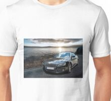 Black car on sunset Unisex T-Shirt
