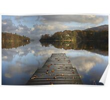 The Jetty In Autumn Poster