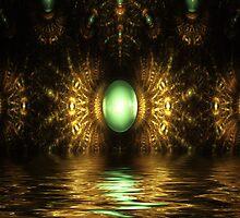 Jade Egg by Pam Amos