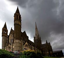 Sacred Heart Cathedral - Bendigo by Janine Livingston