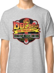 Doc E. Brown Time Travel Services Classic T-Shirt