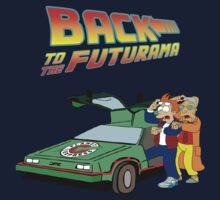 Back to the Future Futurama by RedbubblePro