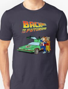 Back to the Future Futurama T-Shirt