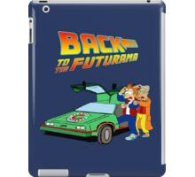 Back to the Future Futurama iPad Case/Skin