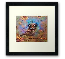 little love bird Framed Print