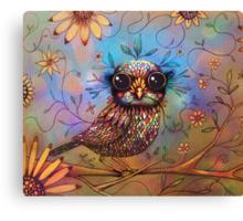 little love bird Canvas Print