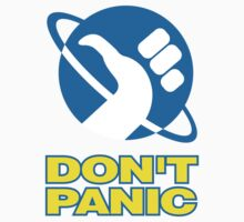 Hitchhiker's Guide To The Galaxy (Don't Panic) by ixrid