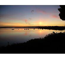 Dorset Sunset Photographic Print