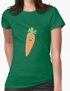 Kawaii Carrot Womens Fitted T-Shirt