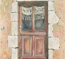 Door, Chez Bourret, France by ian osborne
