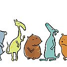cool animals by greendeer
