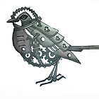 mechanical bird by Lisa Stead