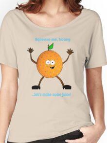 Randy Orange Women's Relaxed Fit T-Shirt