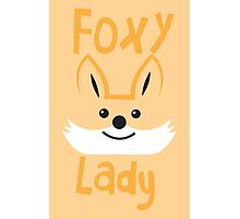 Foxy Lady Photographic Print