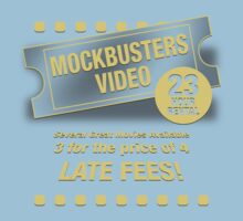 Mockbusters Video Kids Clothes