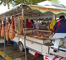 Markets # 2, France by Paul Gilbert