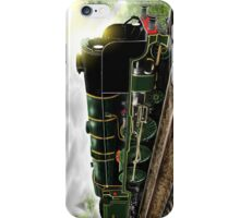 """Lord Nelson"" Antique Steam Locomotive [Digital Drawing] iPhone Case/Skin"