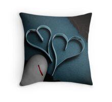 Just A Papercut Throw Pillow