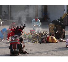 Indian ceremony - All Souls' Day Photographic Print