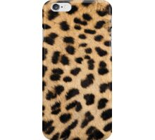 Cheetah hide - middle pattern iPhone Case/Skin
