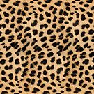 Cheetah hide - small pattern by KRDesign