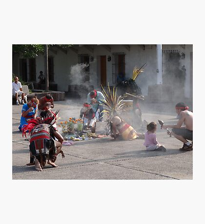 Indian ceremony - All Souls' Day II Photographic Print