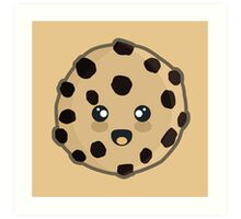 Kawaii Cookie Art Print
