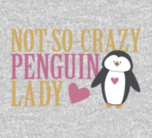 NO-SO-CRAZY penguin LADY One Piece - Long Sleeve