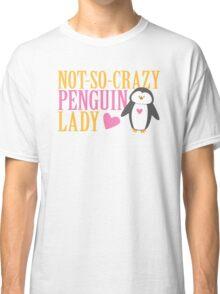 NO-SO-CRAZY penguin LADY Classic T-Shirt