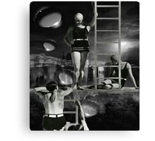 Rescue me Canvas Print