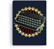 Sinclair ZX Spectrum Celebration Canvas Print