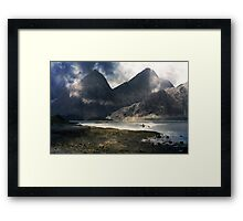 A Landscape of Loneliness. Framed Print