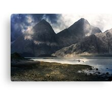 A Landscape of Loneliness. Canvas Print