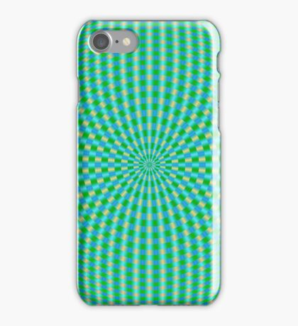 Rings in Green and Blue and Yellow iPhone Case/Skin