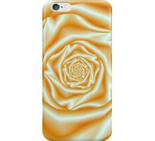 Orange Rose Spiral iPhone Case/Skin
