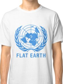 Flat Earth Classic T-Shirt